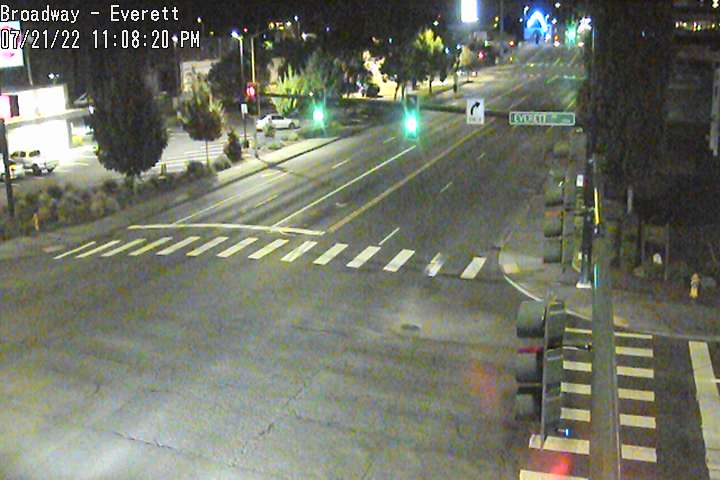 Camera at Broadway and Everett
