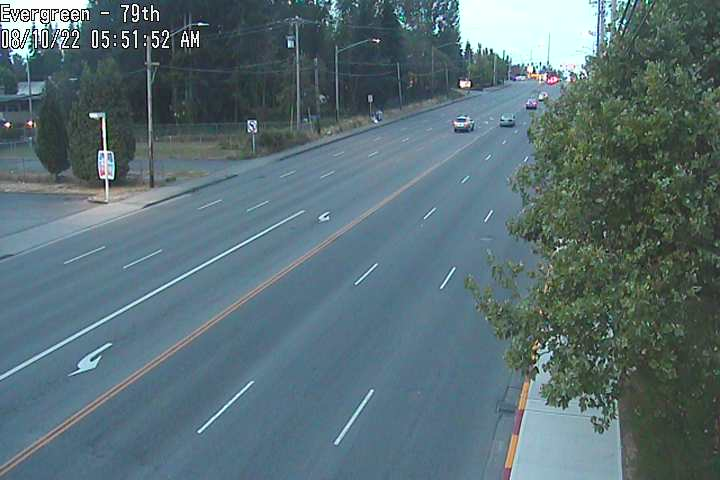 Camera at Evergreen and 79th
