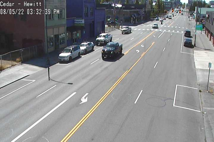 Camera at Hewitt and Cedar